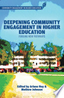 Deepening Community Engagement in Higher Education