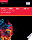 A AS Level English Literature A for AQA Student Book