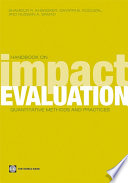 Handbook on Impact Evaluation Beneficiaries Methods To Understand Whether Such Programs Actually