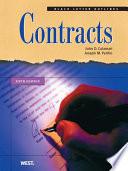 Calamari and Perillo s Black Letter Outline on Contracts  5th