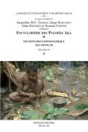 Dictionnaire ethnographique aka-français