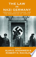 The Law In Nazi Germany : as a zone of lawlessness, the nazi...