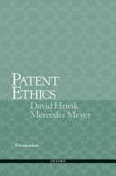Patent Ethics
