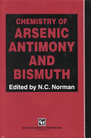 Chemistry of Arsenic, Antimony and Bismuth
