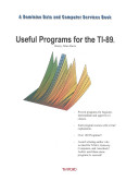 Useful Programs for the TI 89