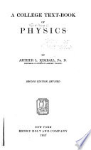 A College Text book of Physics