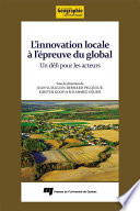 L innovation locale    l     preuve du global