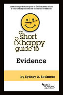 A Short Happy Guide To Evidence