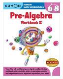 Pre Algebra Workbook II