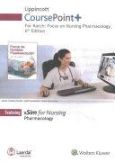 Lippincott Coursepoint  for Focus on Nursing Pharmacology
