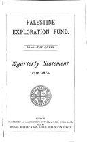 download ebook quarterly statement - palestine exploration fund pdf epub