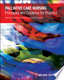 Palliative Care Nursing  Principles And Evidence For Practice