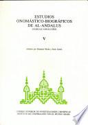 Estudios onomástico-biográficos de Al-Andalus: Familias andalusíes