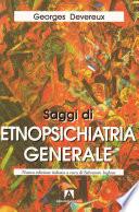 Saggi di etnopsichiatria generale