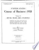 1967 Census of Business  Retail trade area statistics