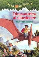 Dinosaurios al atardecer