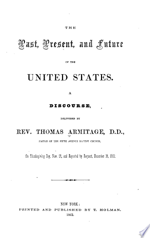 Slavery and the Civil War: Sermons