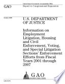 U  S  Department of Justice