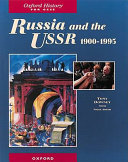 Russia and the USSR, 1900-1995