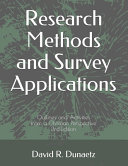 Research Methods And Survey Applications