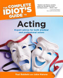 The Complete Idiot S Guide To Acting