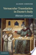 Vernacular Translation in Dante s Italy