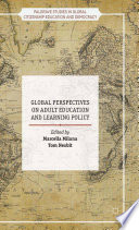 Global Perspectives on Adult Education and Learning Policy