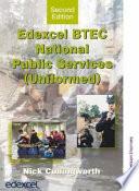 Edexcel Btec National Public Services  Uniformed