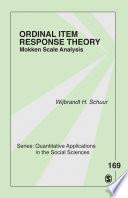 Ordinal Item Response Theory