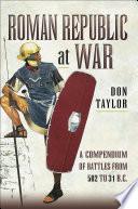 Roman Republic at War