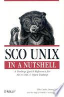 SCO UNIX in a Nutshell