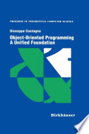 Object Oriented Programming A Unified Foundation