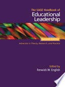 The SAGE Handbook of Educational Leadership