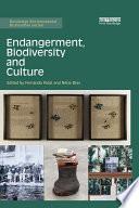 Endangerment  Biodiversity and Culture