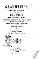 Grammatica inglese ad uso degli italiani di Vergani