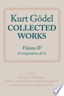 Kurt G  del  Collected Works