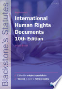 Blackstone s International Human Rights Documents