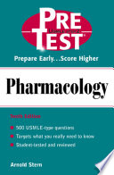 Pharmacology  PreTest Self Assessment and Review