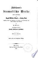 Shakespeare's dramatische Werke: Julius Cäsar. Was ihr wollt. Der Sturm