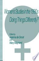 Women s Studies in the 1990s