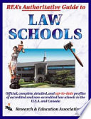 REA s Authoritative Guide to Law Schools