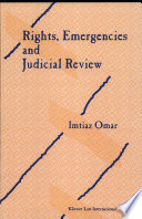 Rights  Emergencies  and Judicial Review