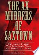 Ax Murders of Saxtown Book PDF