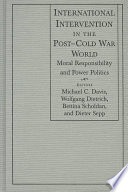 International Intervention in the Post Cold War World
