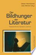 Der Bildhunger der Literatur