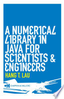 A Numerical Library in Java for Scientists and Engineers