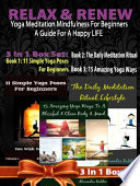 Relax Renew  Yoga Meditation Mindfulness For Beginners
