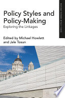 Policy Styles And Policy Making