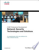 Network Security Technologies and Solutions  CCIE Professional Development Series