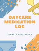 Daycare Medication Log Book PDF